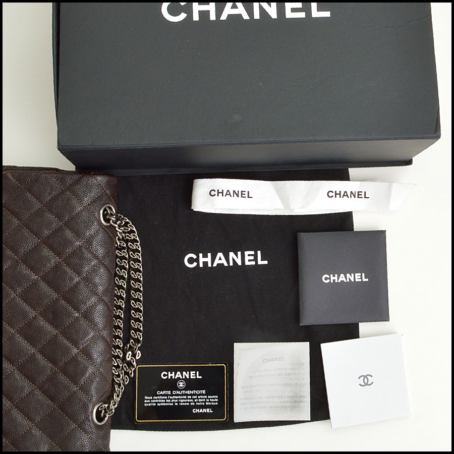 RDC8787 Chanel Chocolate brown reissue includes