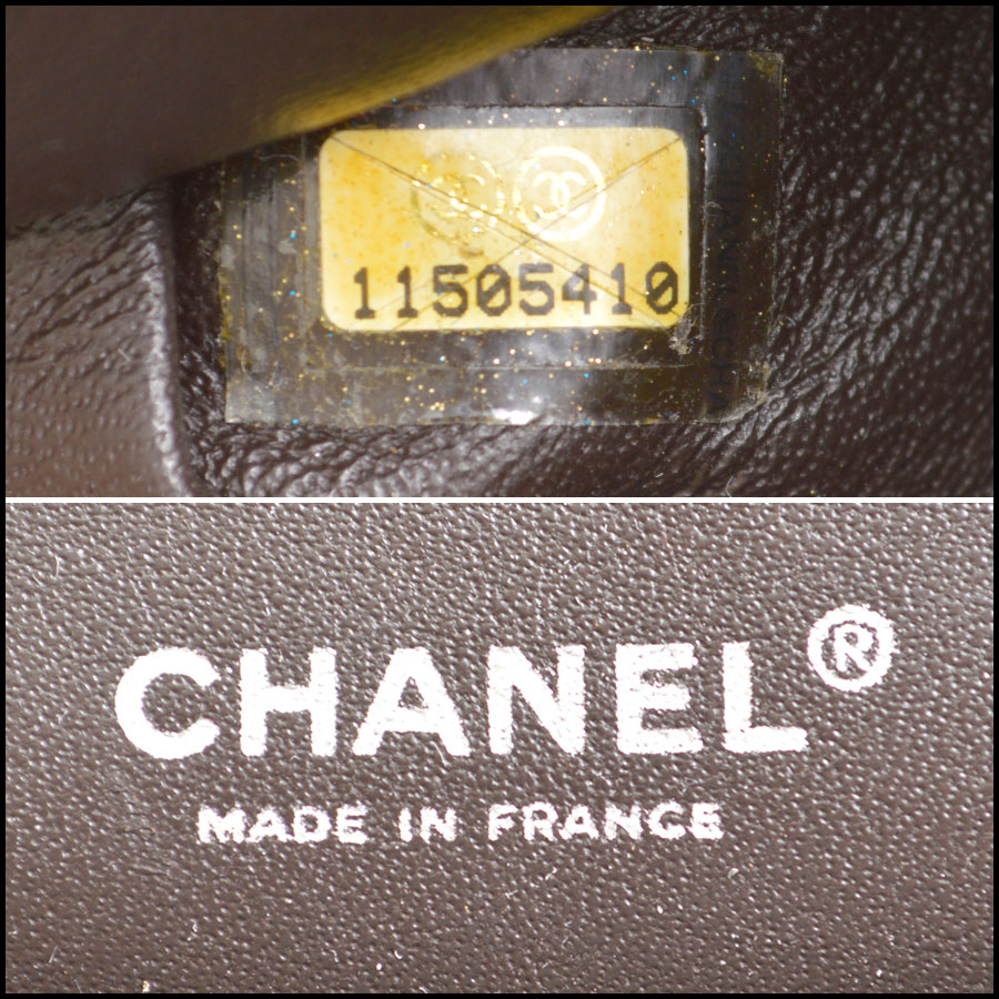 RDC8787 Chanel Chocolate brown reissue tag