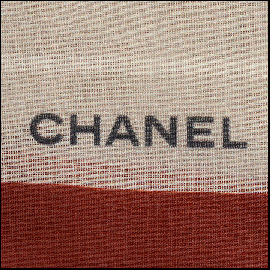 RDC10208 Chanel Cotton Pareo logo