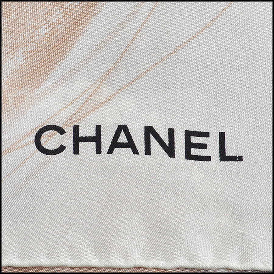 RDC8757 Chanel Abstract Scarf logo