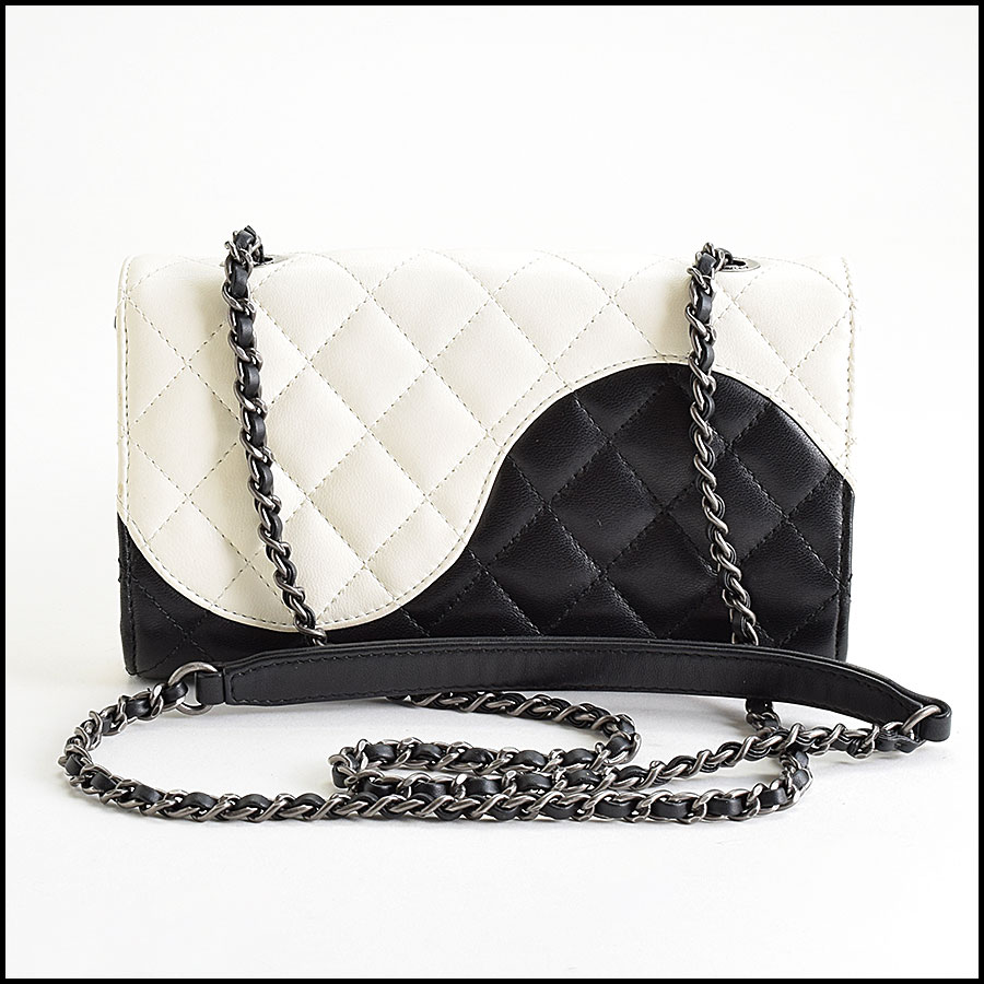 RDC9412 Chanel Black Ying Yang Bag back