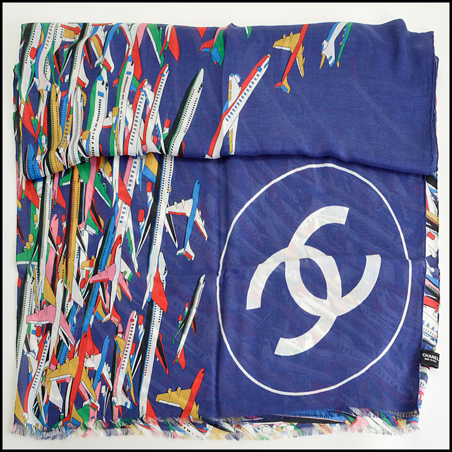 RDC8007 Chanel  logo shawl