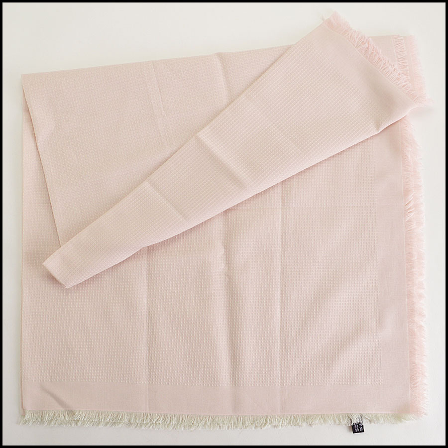 Chanel Pink Pareo Sarong Scarf Authentic