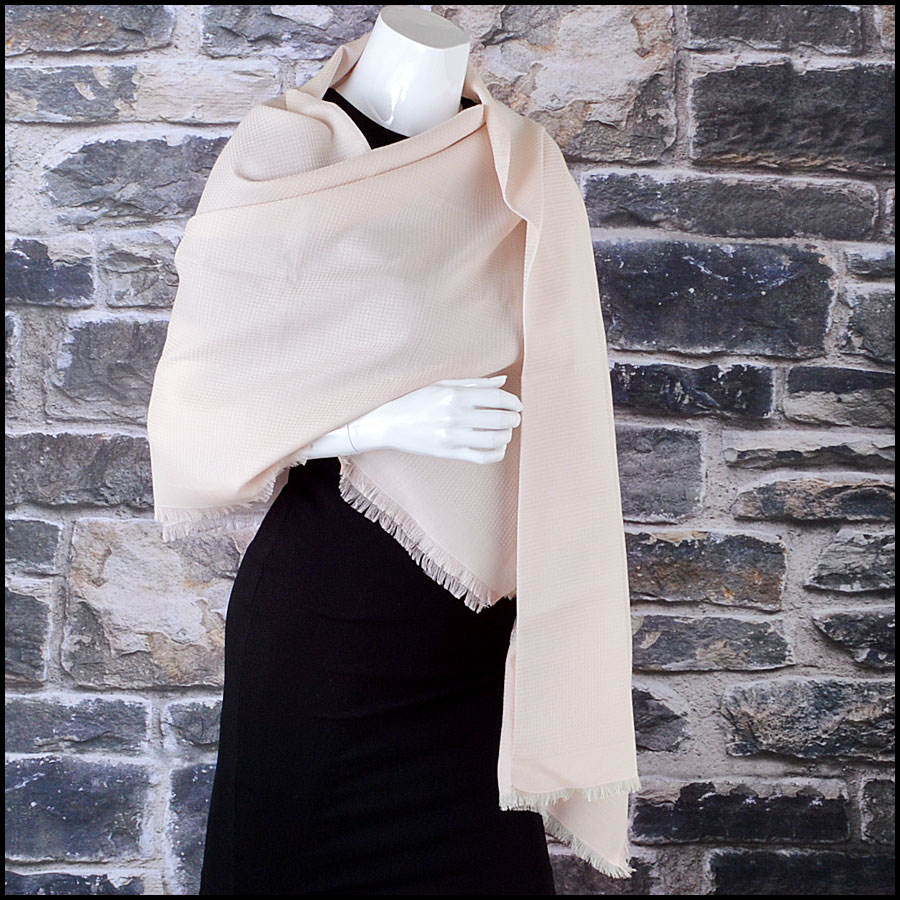 Chanel Pink Pareo Sarong Scarf Mannequin