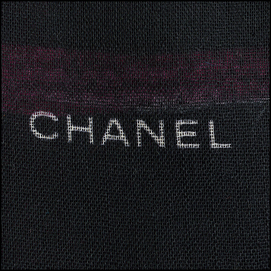 RDC8779 Chanel Brush Stroke Shawl logo