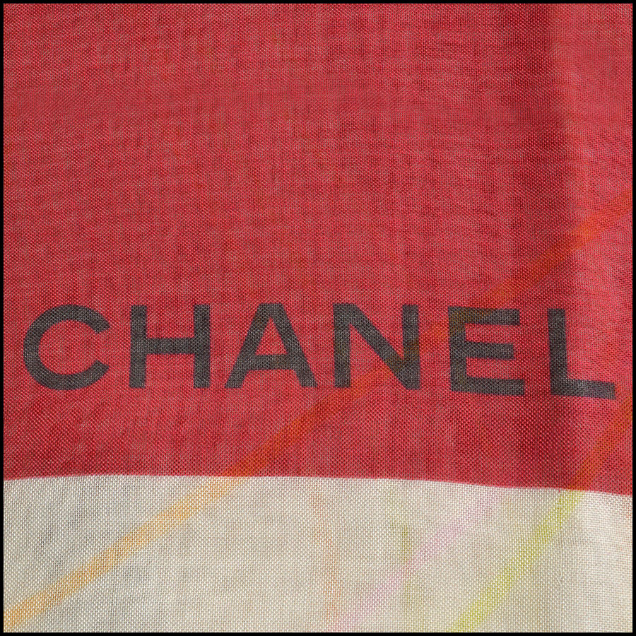 RDC8783 Chanel liner flowers scarf logo3