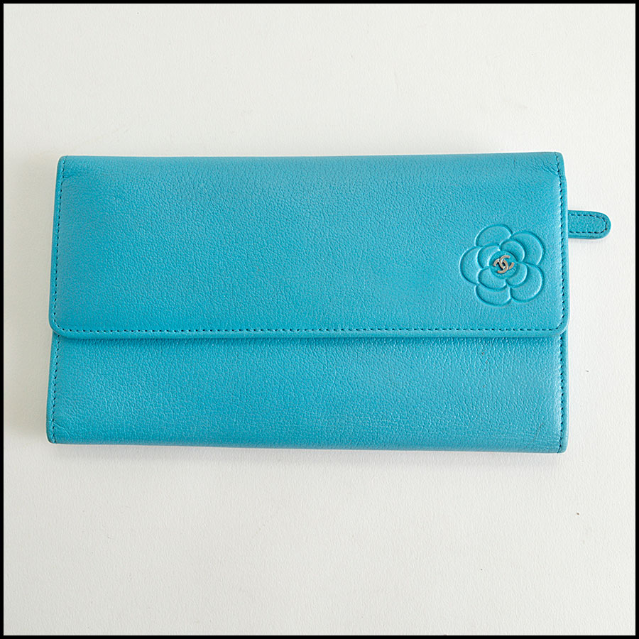 RDC8282 Chanel Turquoise Wallet