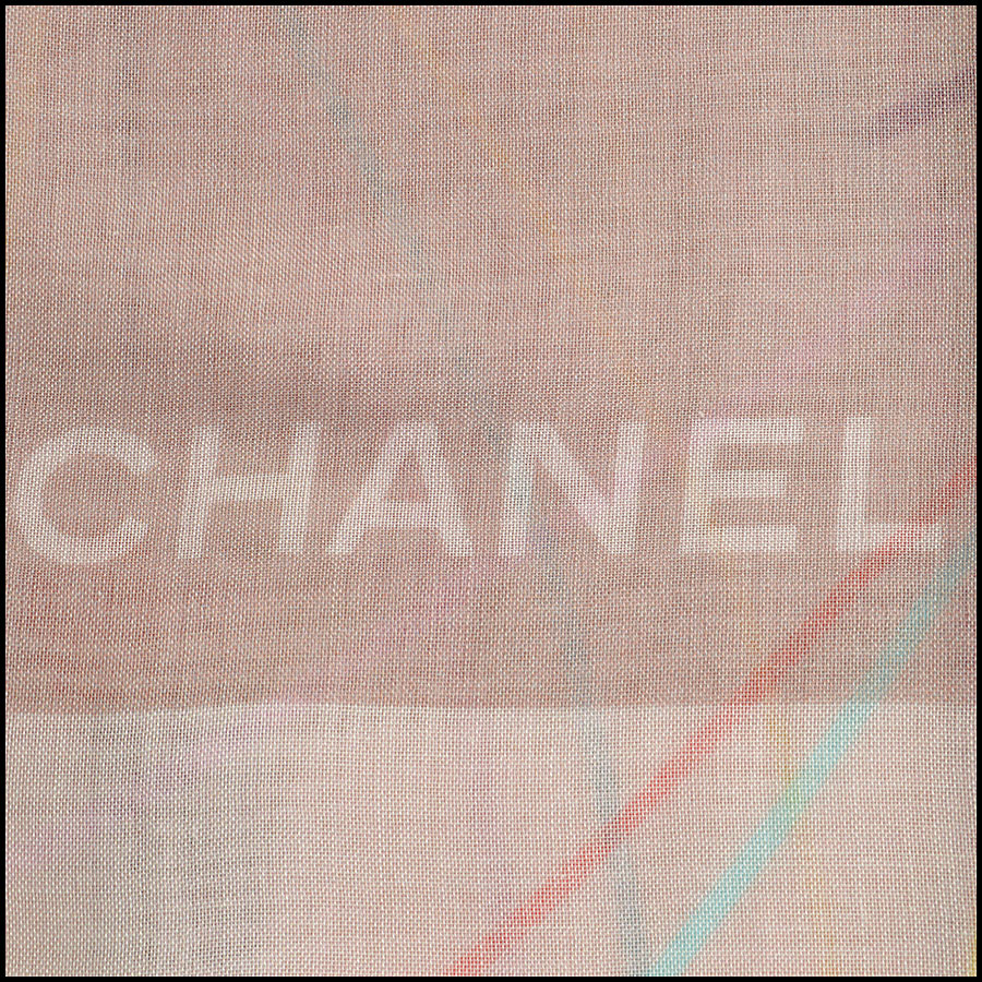 RDC8784 Chanel liner flowers scarf logo3