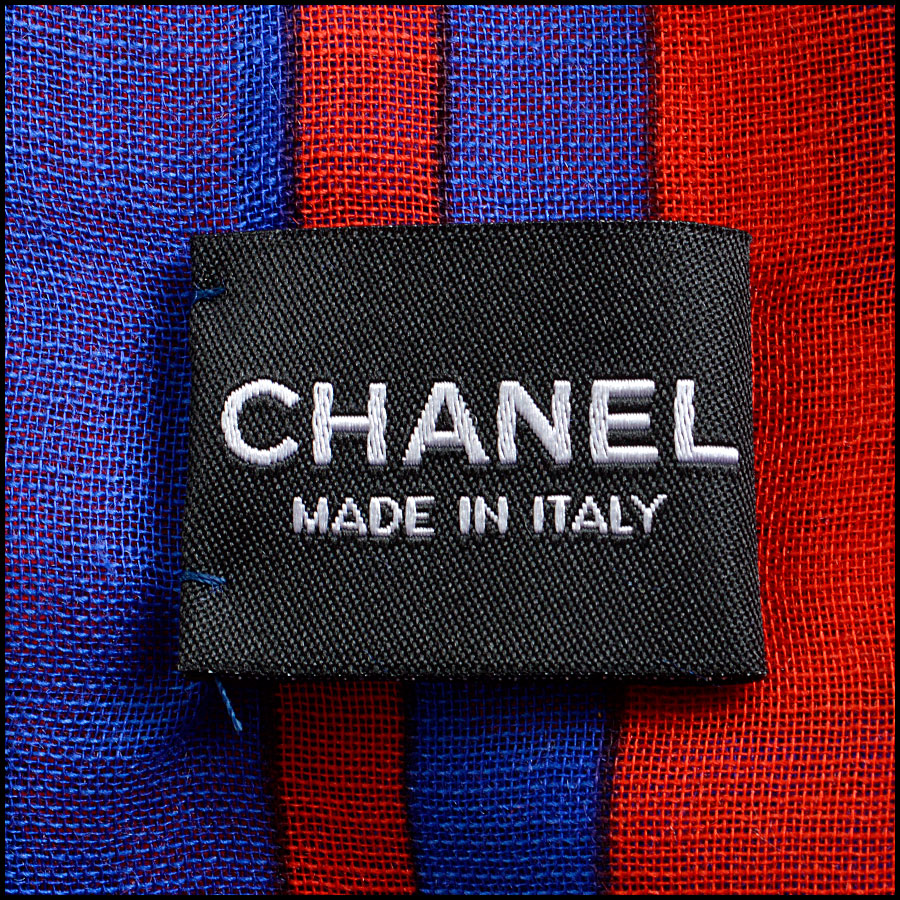 RDC8017 Chanel Airlines Shawl tag 1