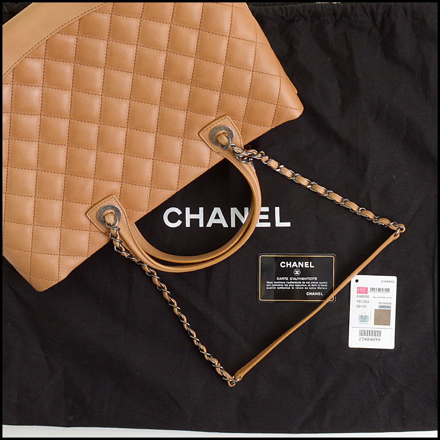 3c06bb733f57 RDC9840 Chanel Shopping Bag includes