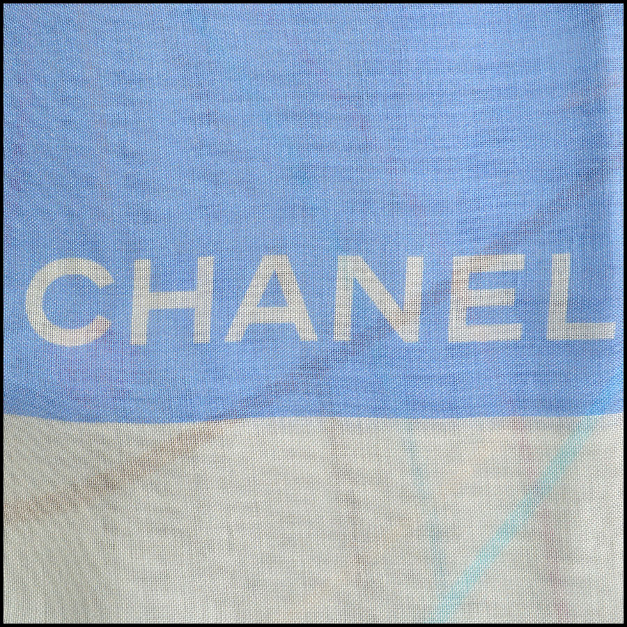 RDC8781 Chanel liner flowers scarf logo3