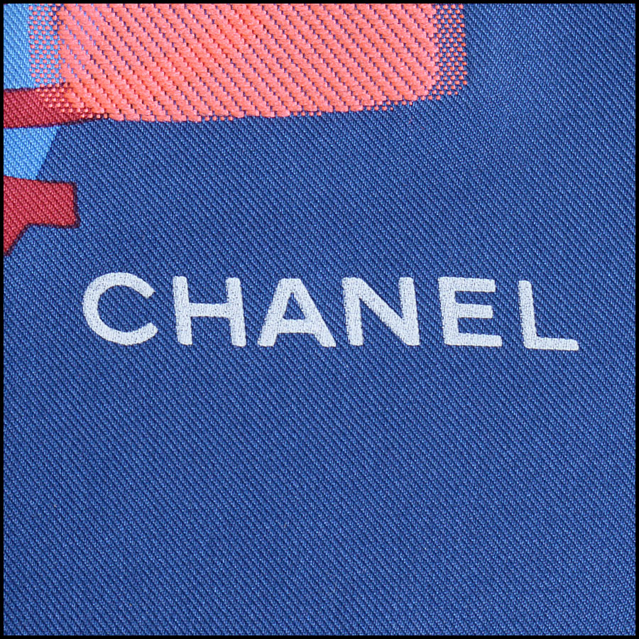 RDC10211 Chanel Multicolor Tweed logo