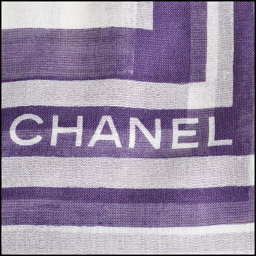 RDC8016 Chanel Plum/ Ivory Polkadots and Wings Shawl logo