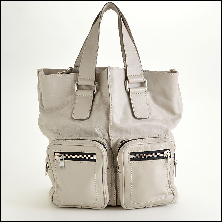RDC7764 Chloe Grey Leather Tote image