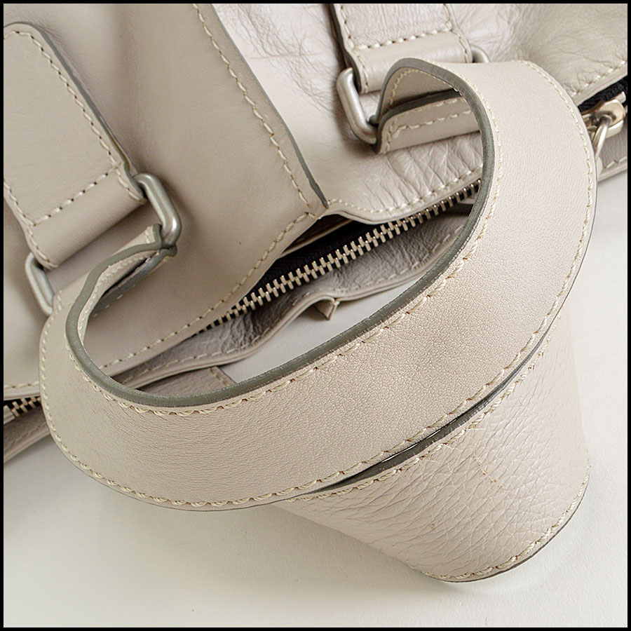 RDC7764 Chloe Grey Leather Tote Strap