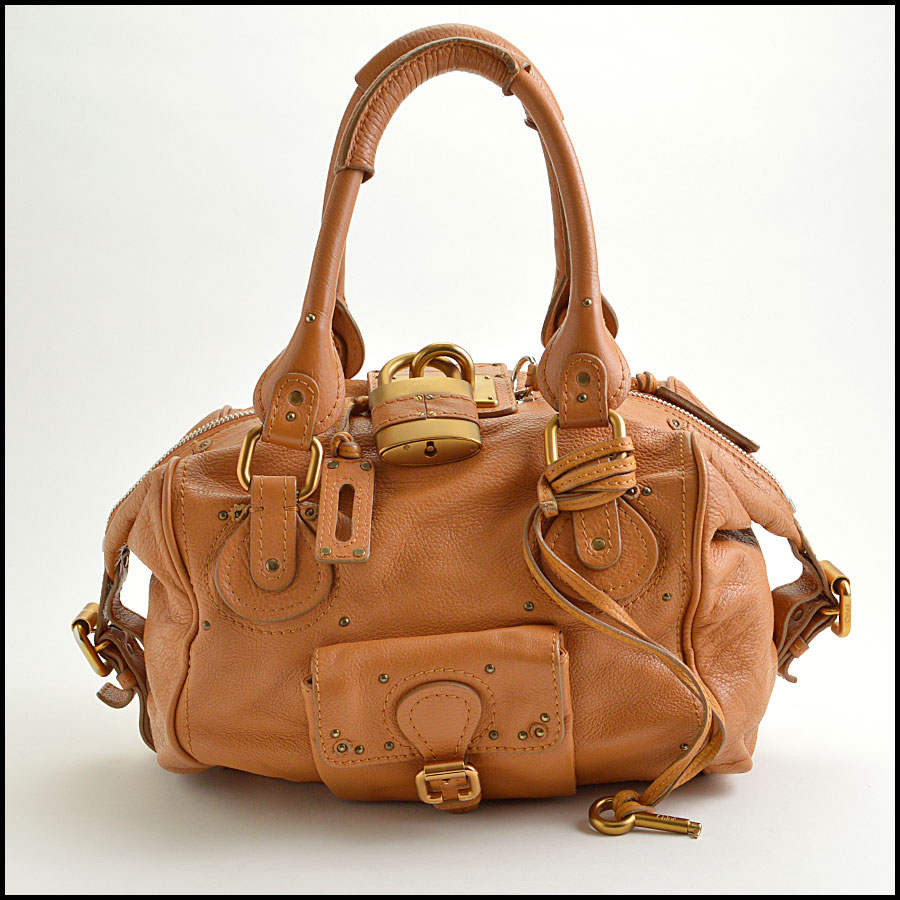 RDC8908 Chloe Tan Paddington Satchel
