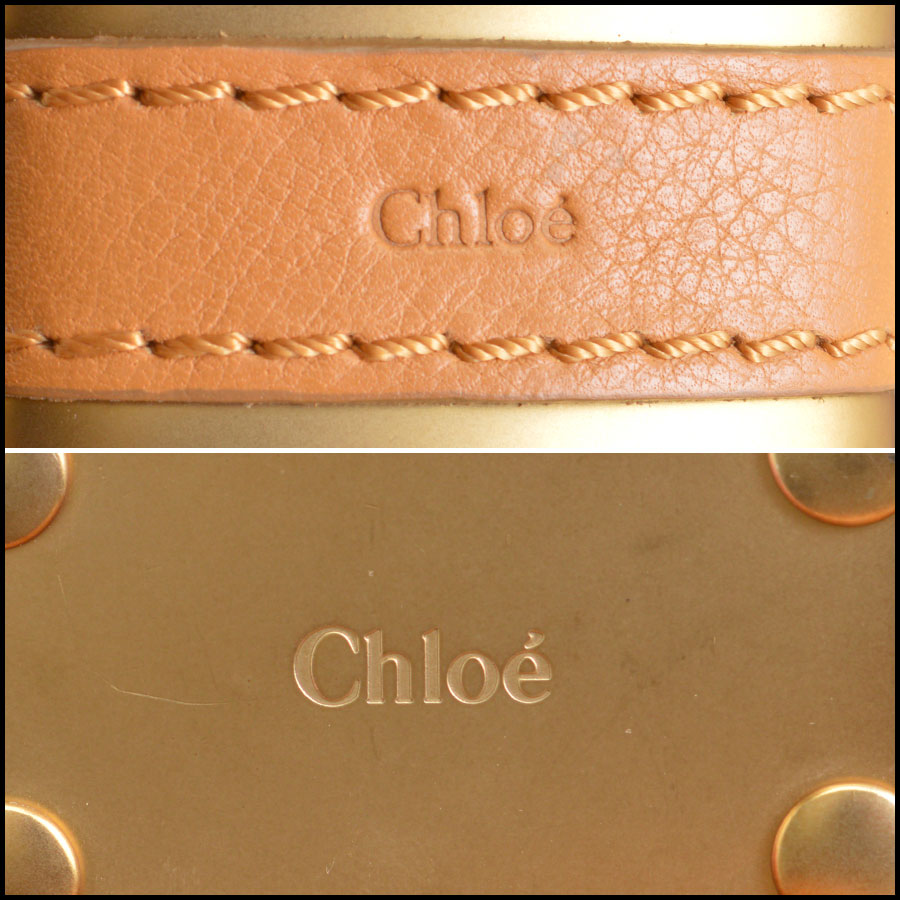 RDC8908 Chloe Tan Paddington Satchel tag 3
