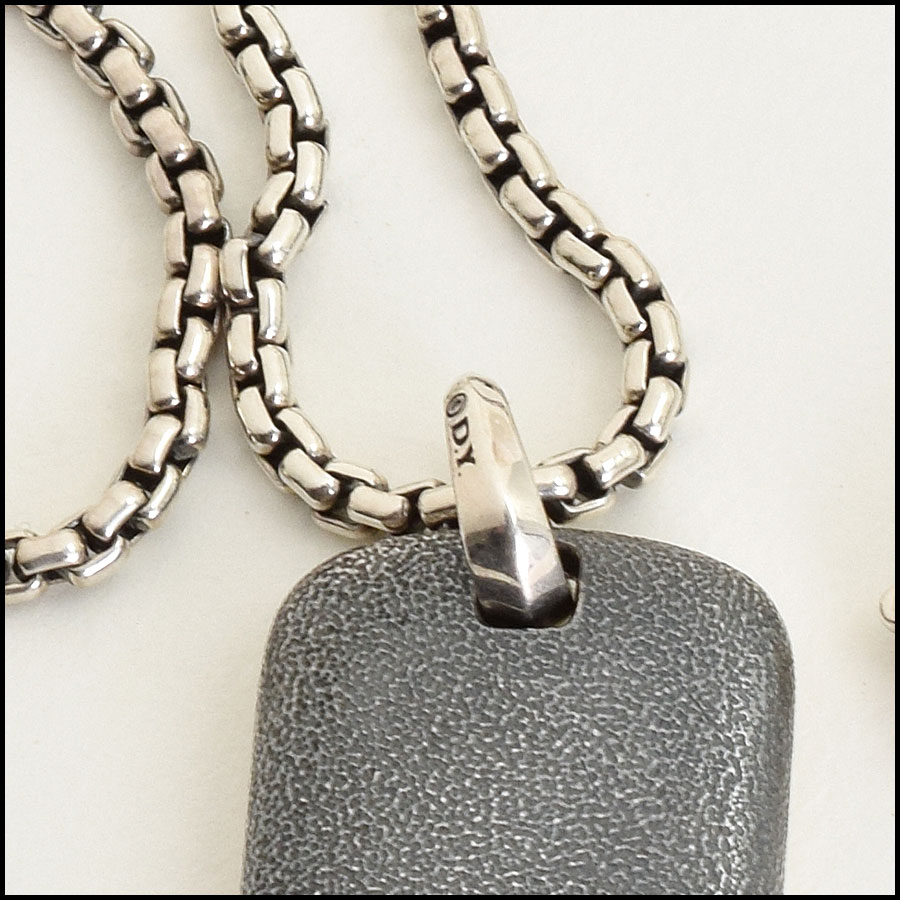 RDC9407 David Yurman Necklace tag 2