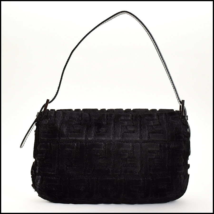 RDC9332 Fendi Faux Fur Baguette back