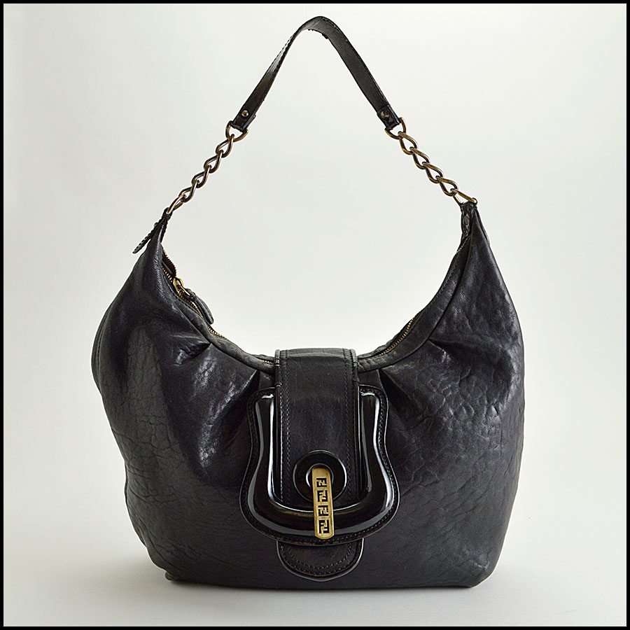 RDC8360 Fendi Black Hobo B Bag