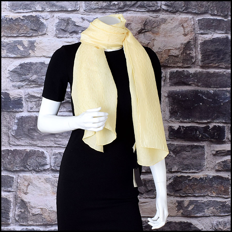 RDC9104 fendi yellow stole