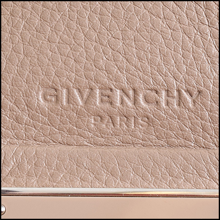 RDC9514 Givenchy Etoupe Large Shark Tooth Satchel  tag 2