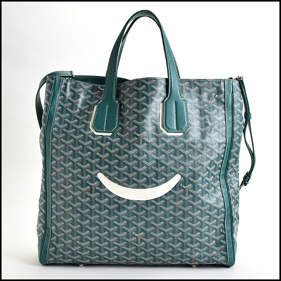 RDC9620 Goyard Green Limited Edition Smile Tote