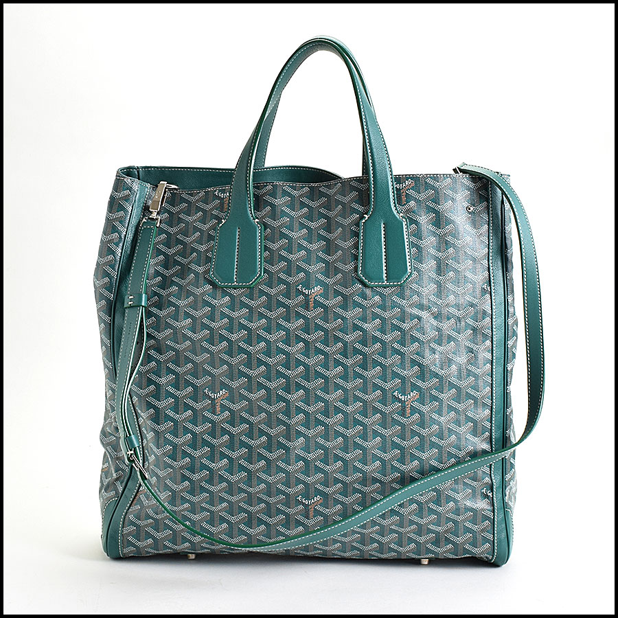 RDC9620 Goyard Green Limited Edition Smile Tote back