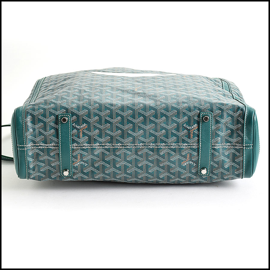 RDC9620 Goyard Green Limited Edition Smile Tote bottom