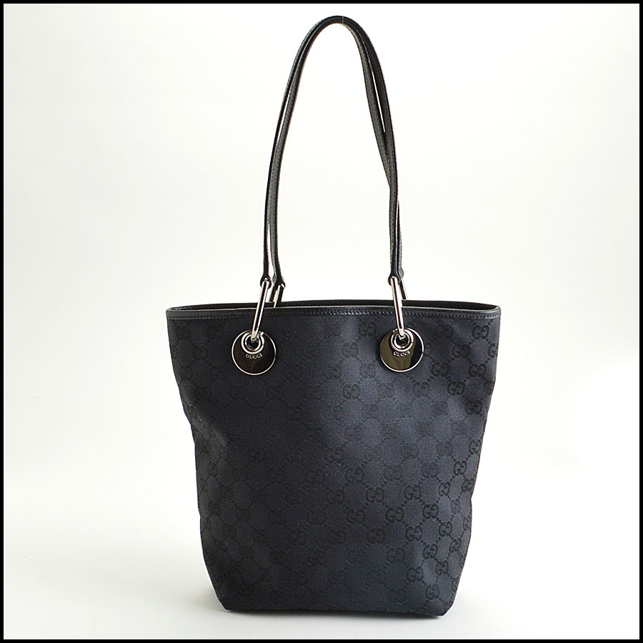 RDC8481 Gucci Cnvas Bucket tote back