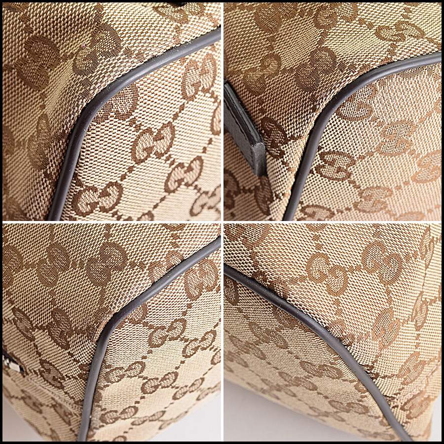 RDC9388 Gucci GG Monogram Backpack corners