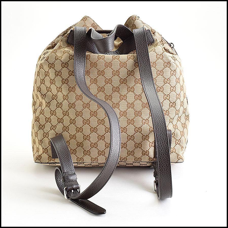 RDC9388 Gucci GG Monogram Backpack back