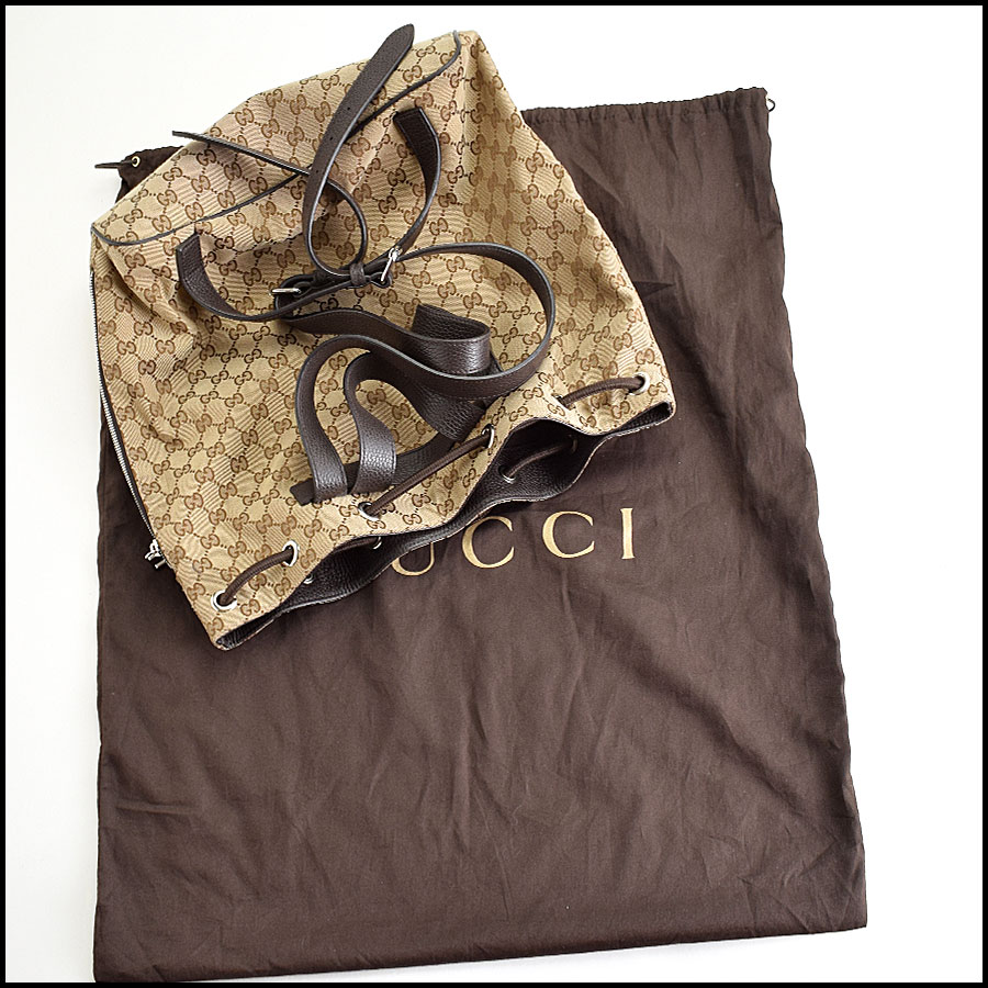RDC9388 Gucci GG Monogram Backpack includes