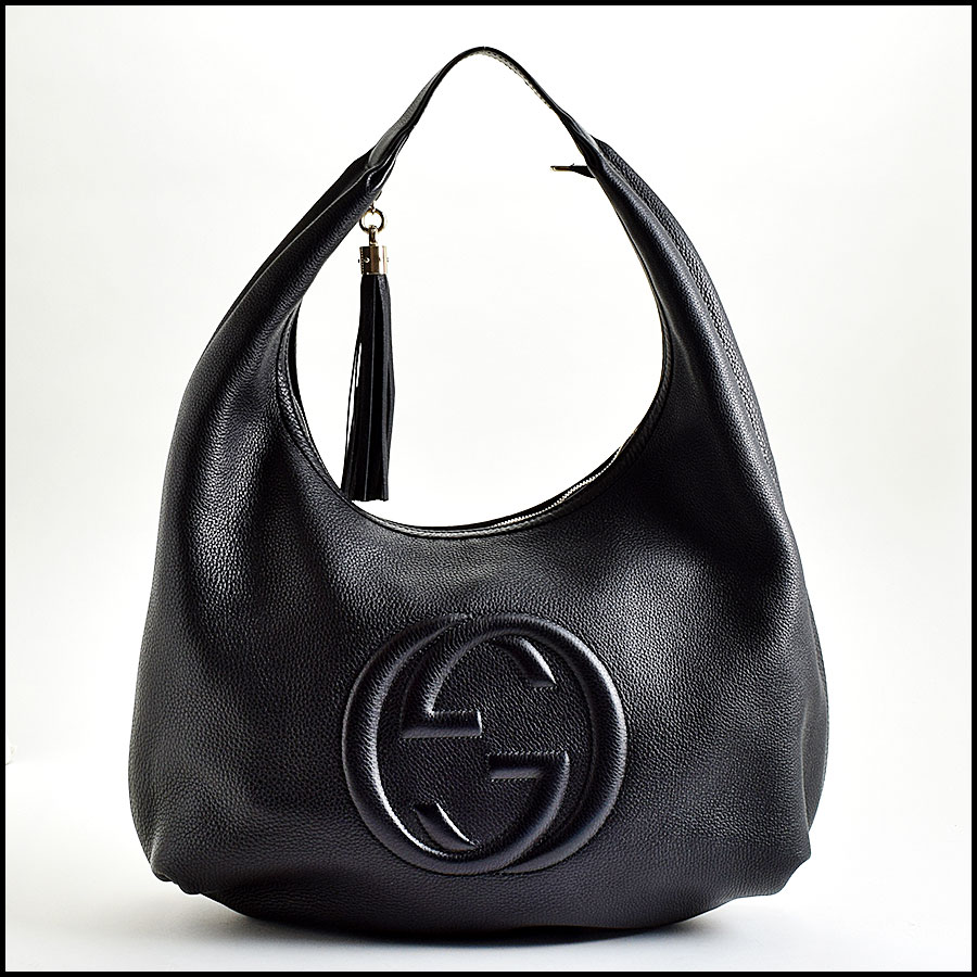 RDC9000 Gucci Black Hobo