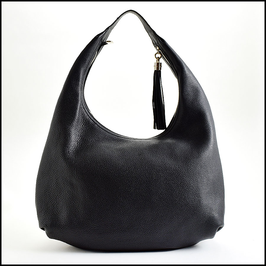 RDC9000 Gucci Black Hobo back