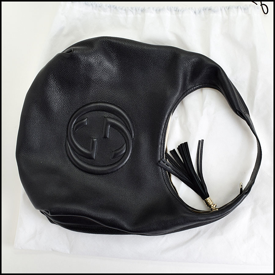 RDC9000 Gucci Black Hobo includes