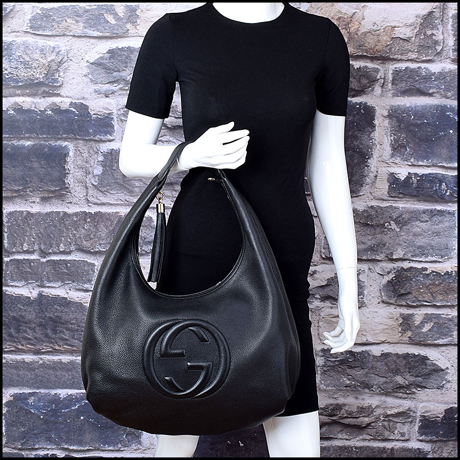 RDC9000 Gucci Black Hobo model
