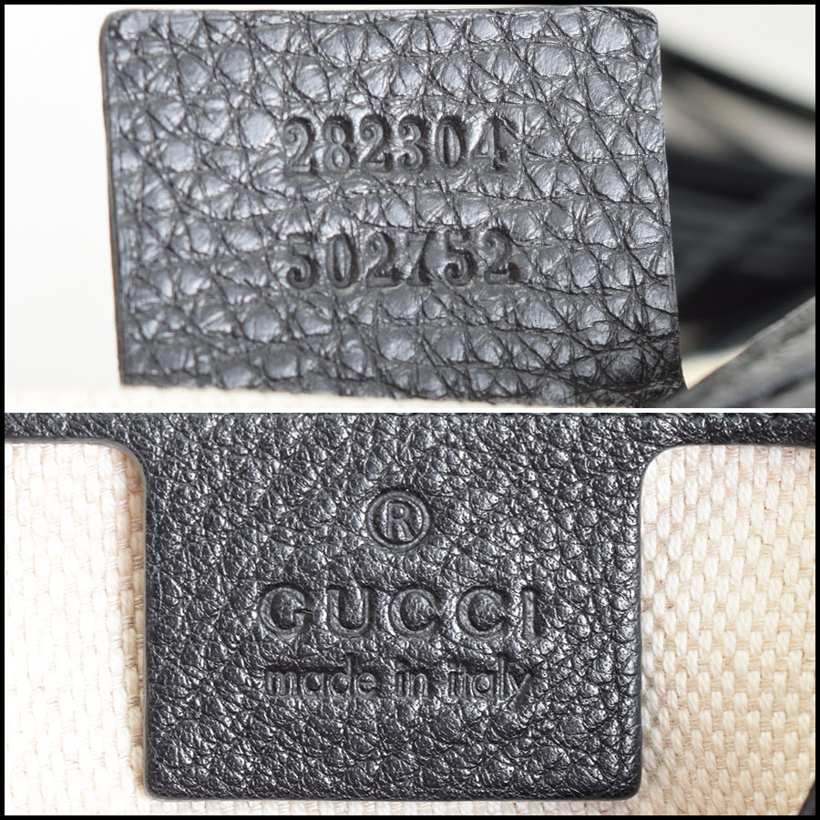 RDC9000 Gucci Black Hobo tag