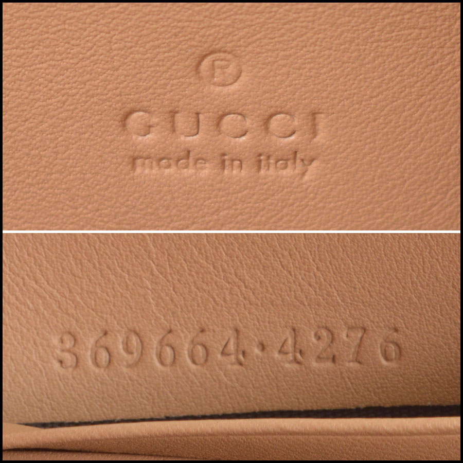 RDC8759 Gucci Moon Wallet With Strap tag