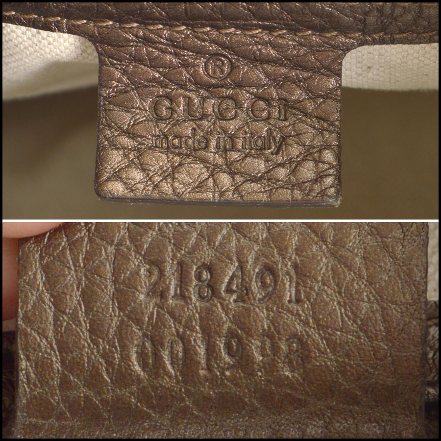 RDC8713 Gucci Bronze New Jackie tag