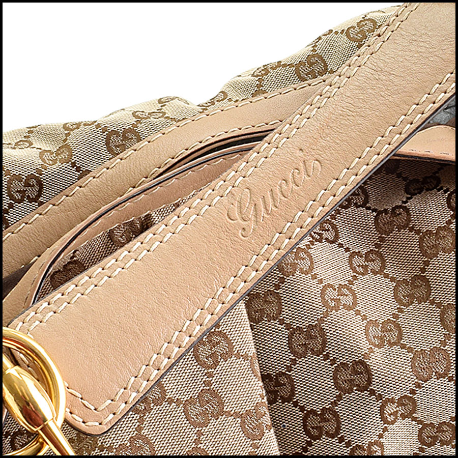 RDC9390 Gucci GG Monogram Large Jockey handle