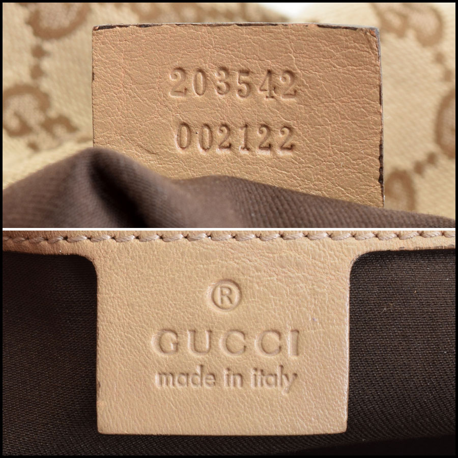RDC9390 Gucci GG Monogram Large Jockey tag