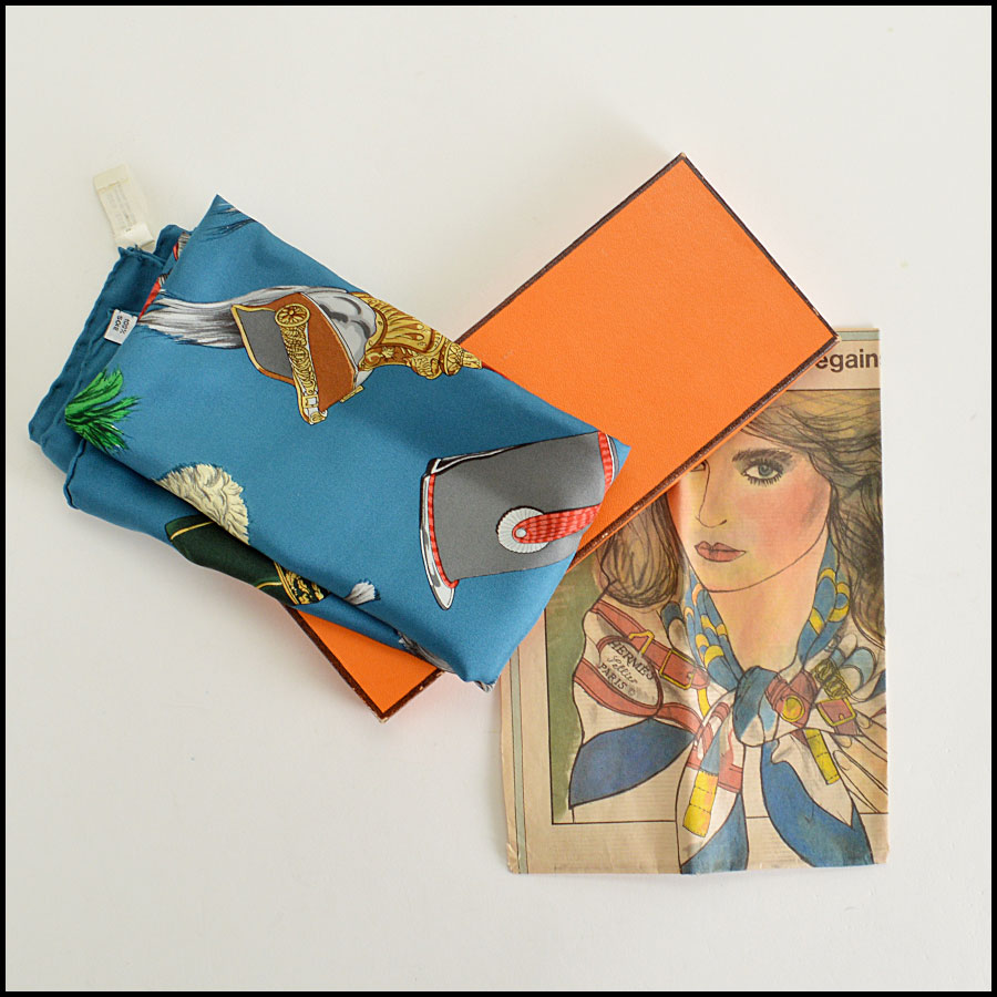 Hermes Aincre Silk Scarf Comes With