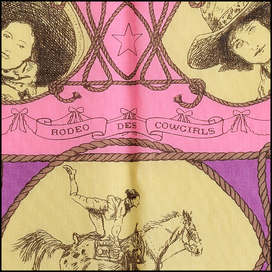 RDC9049 Hermes Cowgirl Scarf title