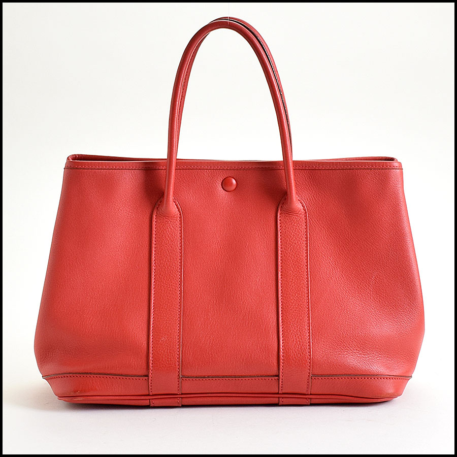 RDC9015 Hermes rouge garden party back