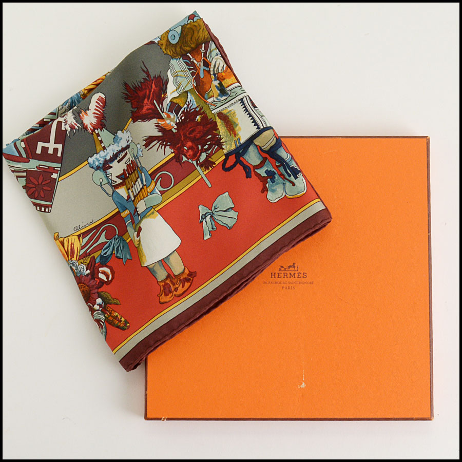 RDC9876 Hermes Kachinas Scarf includes