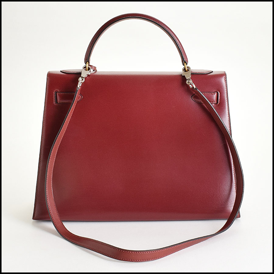 RDC9225 Hermes Kelly Rouge back