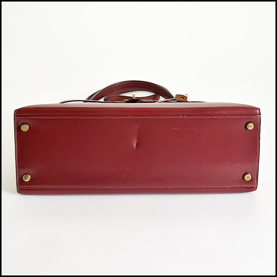 RDC9225 Hermes Kelly Rouge bottom