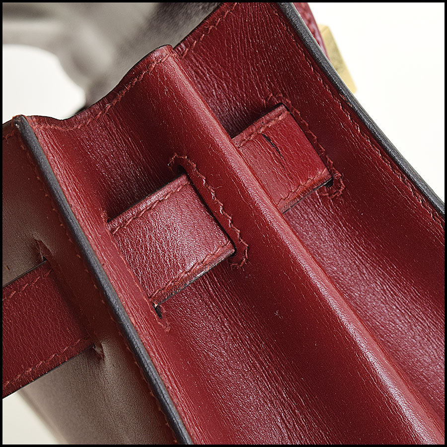 RDC9225 Hermes Kelly Rouge close up
