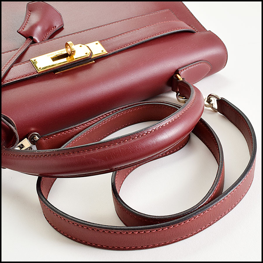 RDC9225 Hermes Kelly Rouge handle